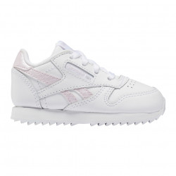 REEBOK, Classic leather, Blanc/pixpnk/none