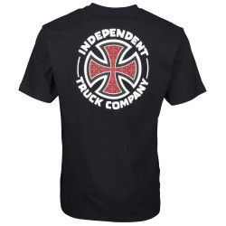 INDEPENDENT, Repeat cross t-shirt, Black