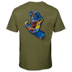 SANTA CRUZ, Primary hand t-shirt, Olive