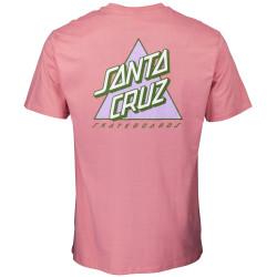SANTA CRUZ, Not a dot t-shirt, Rose pink
