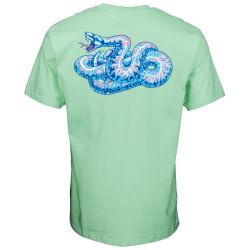 SANTA CRUZ, Kendall snake t-shirt, Mint