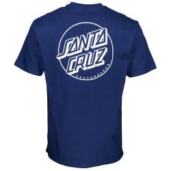 SANTA CRUZ, Opus dot stripe t-shirt, Dark navy