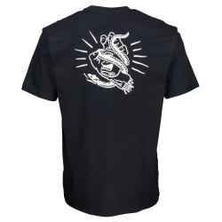 SANTA CRUZ, Snake bite t-shirt, Black