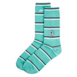 SANTA CRUZ, Mini outline hand sock, Mint