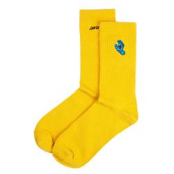 SANTA CRUZ, Screaming mini hand sock, Mustard