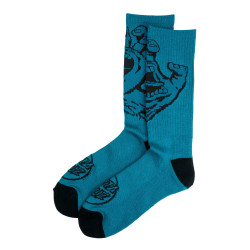 SANTA CRUZ, Screaming hand mono sock, Petrol blue