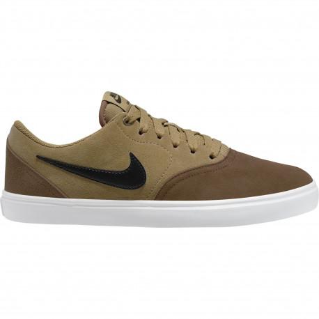 Nike sb check solar - Lt british tan/black-wheat-white