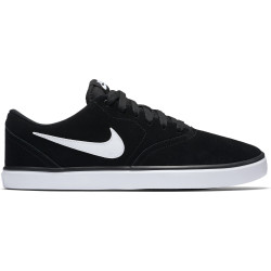 NIKE, Nike sb check solar, Black/white