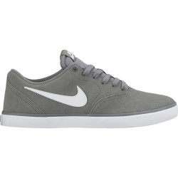 NIKE, Nike sb check solar, Cool grey/white