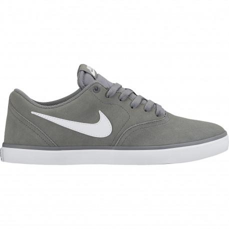 Nike sb check solar - Cool grey/white
