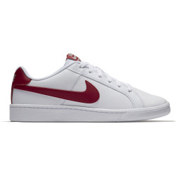 NIKE, Nike court royale, White/gym red-cobblestone