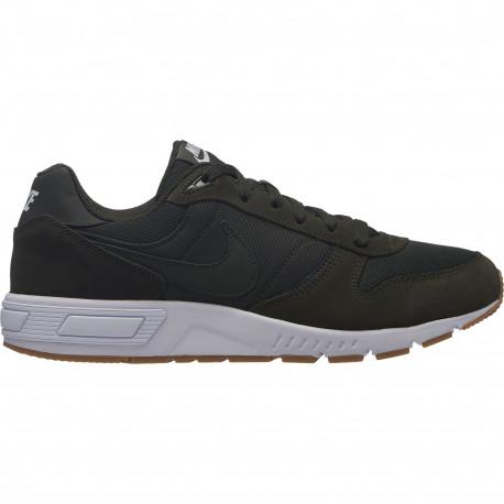 Men's nike nightgazer shoe - Sequoia/sequoia-gum light brown-white