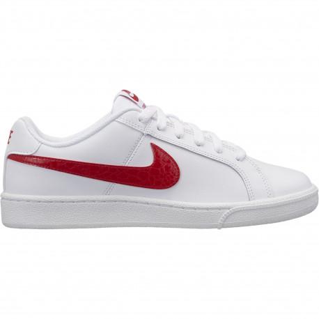 Wmns nike court royale - White/university red-white
