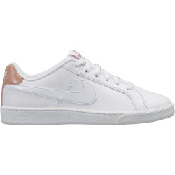 NIKE, Wmns nike court royale, White/white-rose gold