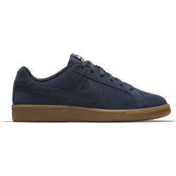 NIKE, Men's nike court royale suede shoe, Armory navy/armory navy-cobblestone
