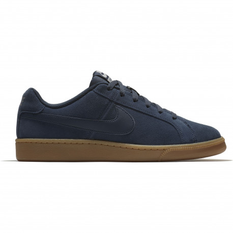 Men's nike court royale suede shoe - Armory navy/armory navy-cobblestone