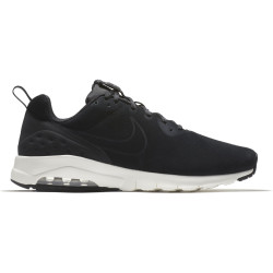 NIKE, Men's nike air max motion low premium shoe, Black/black-sail