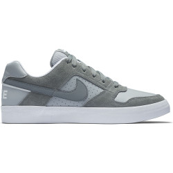NIKE, Men's nike sb delta force vulc skateboarding shoe, Cool grey/cool grey-wolf grey-white