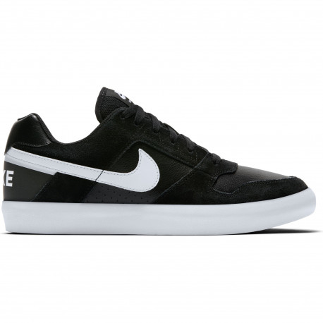 Men's nike sb delta force vulc skateboarding shoe - Black/white-anthracite-white