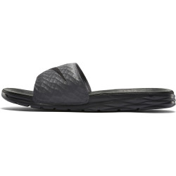 NIKE, Nike benassi solarsoft slide, Dark grey/black
