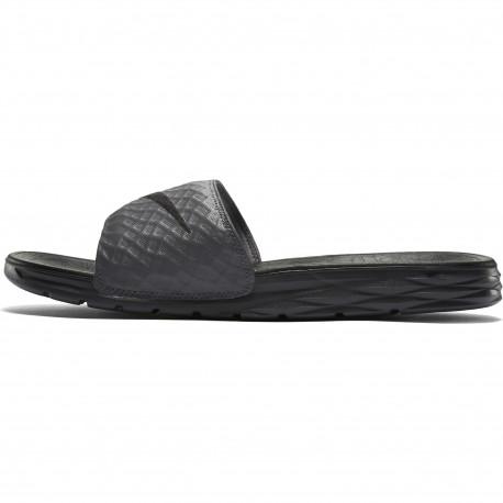 Nike benassi solarsoft slide - Dark grey/black