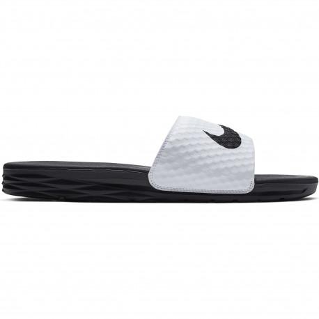Nike benassi solarsoft slide - White/black