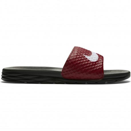 Nike benassi solarsoft slide - Team red/white-black