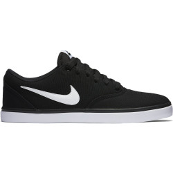 NIKE, Nike sb check solar cnvs, Black/white