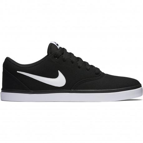 Nike sb check solar cnvs - Black/white