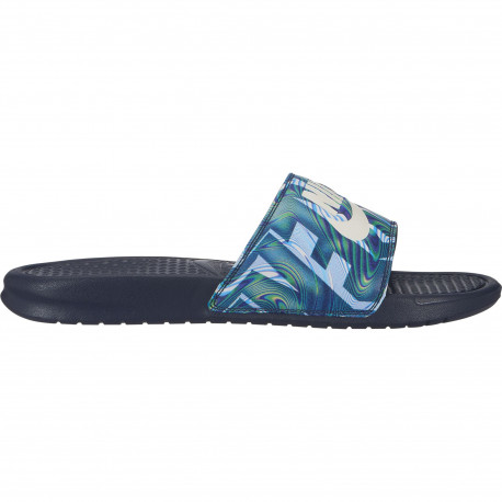 Nike benassi just do it. print - Obsidian/summit white