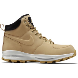 NIKE, Men's nike manoa leather boot, Haystack/haystack-velvet brown