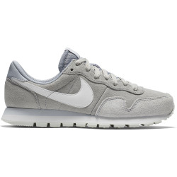 NIKE, Nike air pegasus '83 leather men's shoe, Wolf grey/white-pure platinum-off white