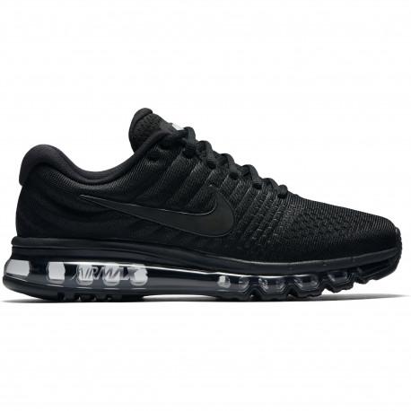 Men's nike air max 2017 running shoe - Black/black-black