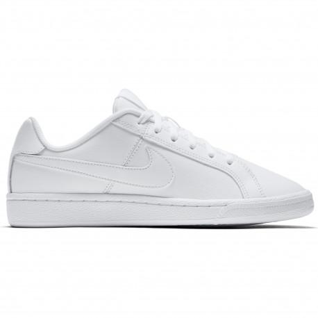 Nike court royale (gs) - White/white