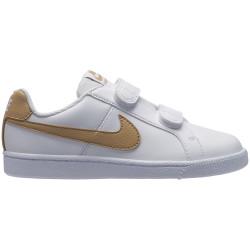 NIKE, Nike court royale (psv), White/club gold