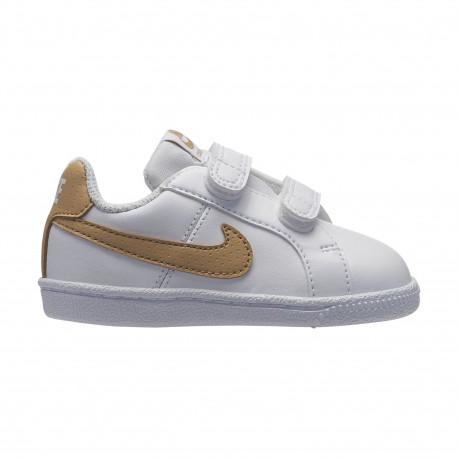 Nike court royale (tdv) - White/club gold