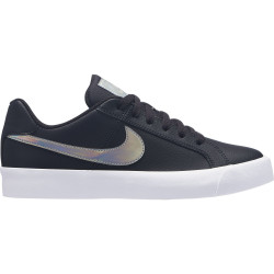 NIKE, Wmns nike court royale ac, Oil grey/silver-light cream