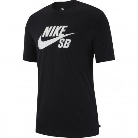 M nk sb dry tee dfct logo - Black/white