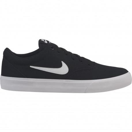 Nike sb charge cnvs - Black/white