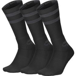 NIKE, Unisex nike sb crew skateboarding socks (3 pairs), Black/anthracite