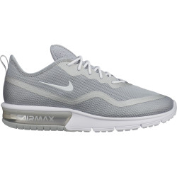 NIKE, Nike air max sequent 4.5, Metallic silver/white