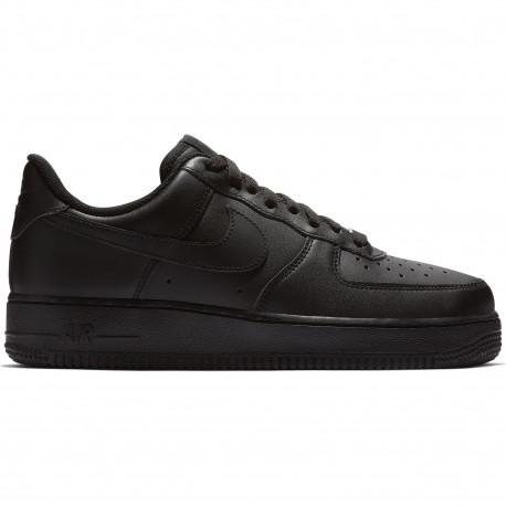 Women's nike air force 1 '07 shoe - Black/black