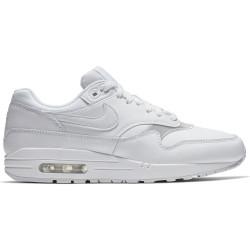 NIKE, Women's nike air max 1 shoe, White/white-white