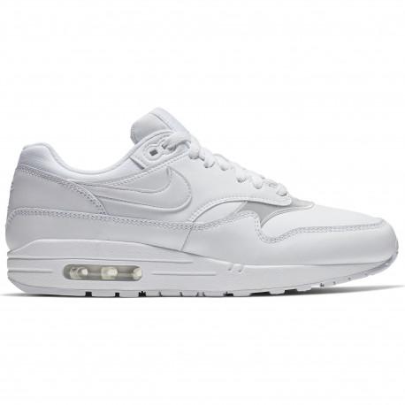 Women's nike air max 1 shoe - White/white-white