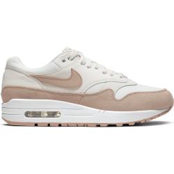 NIKE, Women's nike air max 1 shoe, Summit white/bio beige-summit white