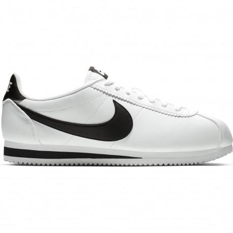 Nike classic cortez leather - White/black-white
