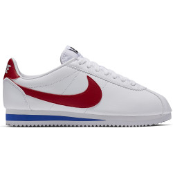 NIKE, Nike classic cortez leather, White/varsity red-varsity royal