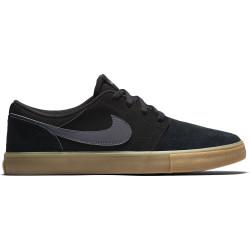 NIKE, Nike sb portmore ii solar, Black/dark grey-gum light brown