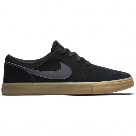 Nike sb portmore ii solar - Black/dark grey-gum light brown