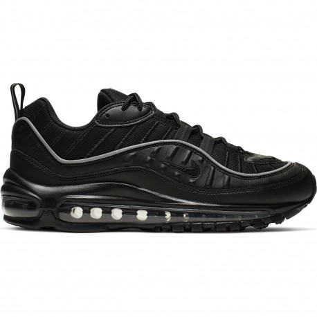 Women's nike air max 98 shoe - Black/black-off noir
